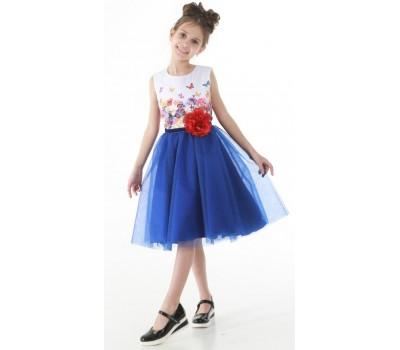 Платье 1715 синее