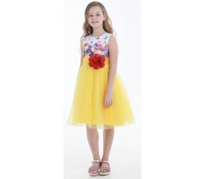 Платье 1715 желтое