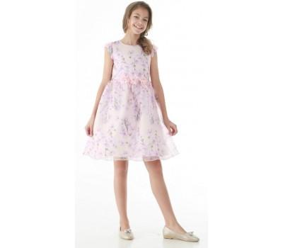 Платье 1716М персик