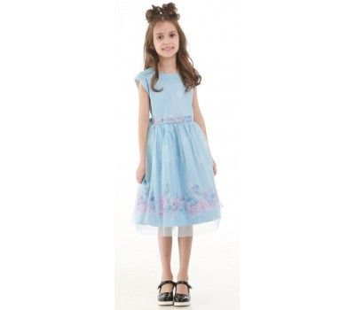 Платье 1717 голубое