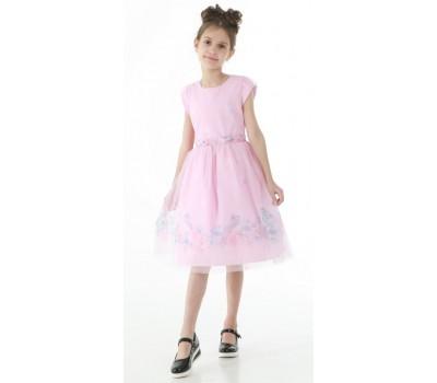 Платье 1717 розовое