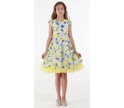 Платье 1719 желтое