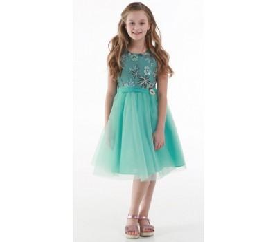 Платье 1722М мятное