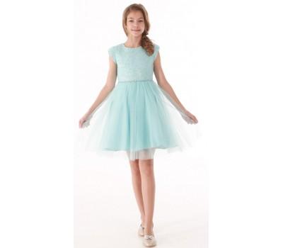 Платье 1728 голубое