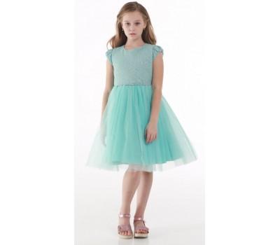 Платье 1729 мятное
