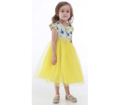Платье 1730 желтое