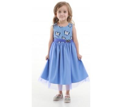 Платье 1731М фиолетовое