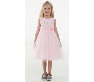 Платье 1731М пудра