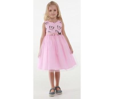 Платье 1731М розовое