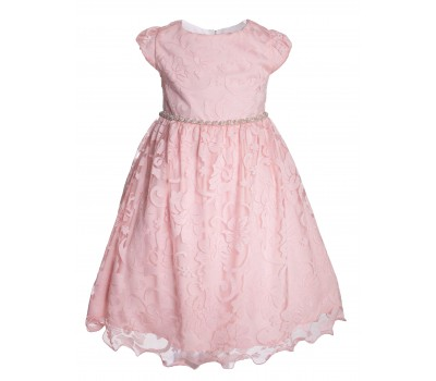 Платье 1732 персик