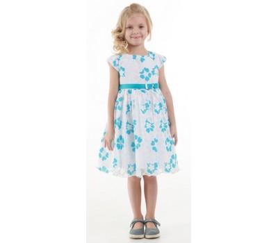 Платье 1912 голубое