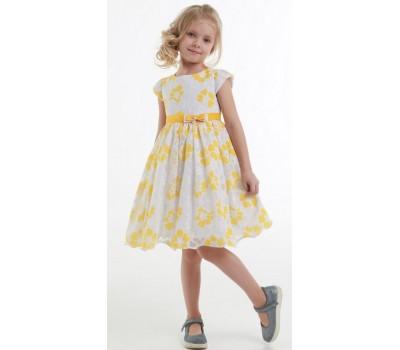Платье 1912 желтое