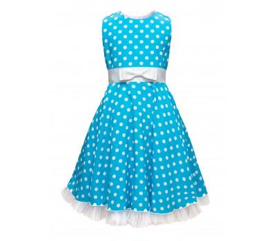 Платье 1914 голубое
