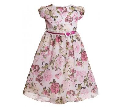 Платье 1814 цветное