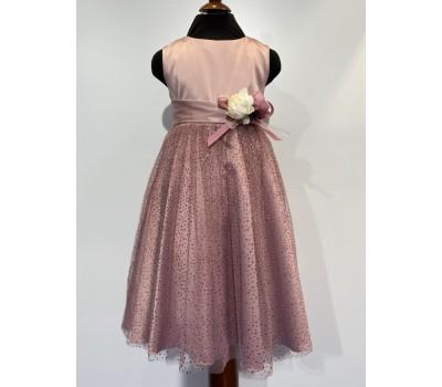 Платье 1823 брусничное