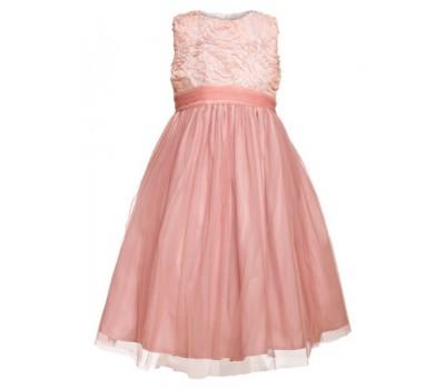 Платье 20211 персик