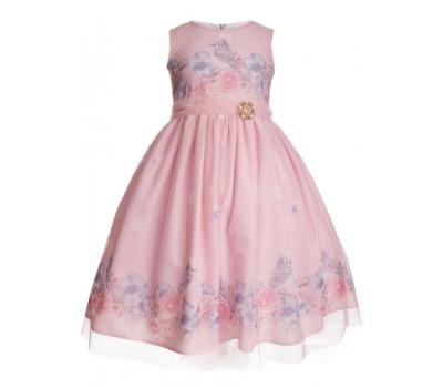 Платье 2101 розовое