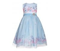 Платье 2102 голубое