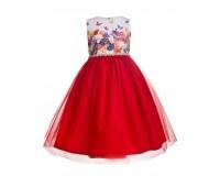 Платье 2103 красное