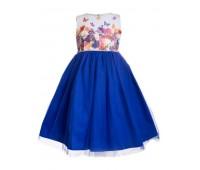 Платье 2103 электрик