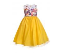 Платье 2103 желтое