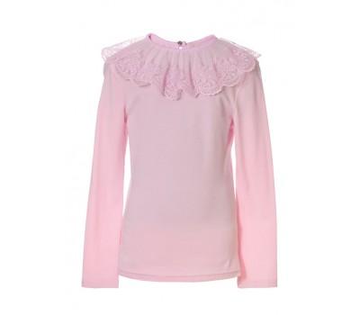 Блузка трикотажная 802 розовая