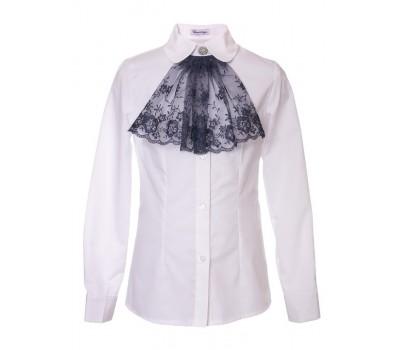 Блузка с длинным рукавом (893БСин)