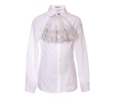 Блузка с длинным рукавом (893БСер)