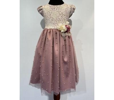 Платье 968 брусничное
