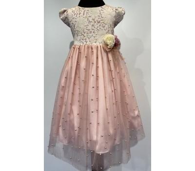 Платье 968 розовое