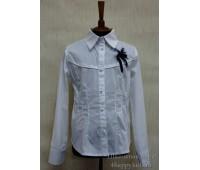 Блузка с длинным рукавом (822)
