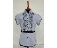 Блузка с коротким рукавом (823-1С)