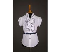 Блузка с коротким рукавом (823-1Б)