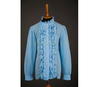 Блузка с длинным рукавом (803Г)