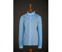 Блузка с длинным рукавом (856Г)