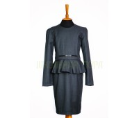 Платье школьное (818сер)