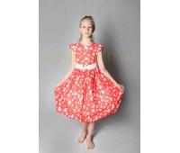 Платье (831К-красный)