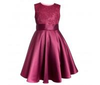 Платье 1706 бордо