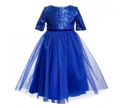 Платье 1837 электрик