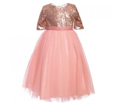 Платье 1837 персик
