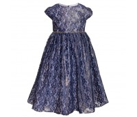 Платье 1916 синий