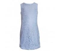 Платье коктейльное 1929 голубое