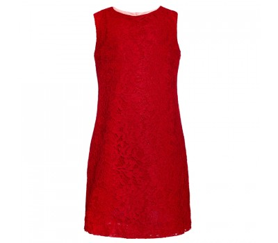 Платье коктейльное 1929 красное