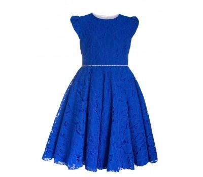 Платье 822 электрик