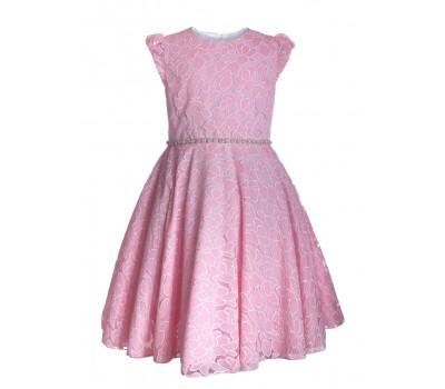 Платье 836 розовое