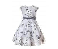 Платье 984 серое