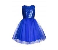 Платье 837 электрик