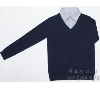 Джемпер-обманка для мальчика (13679Т)
