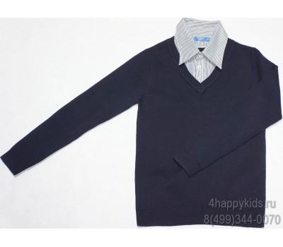 Джемпер-обманка для мальчика (13717T)
