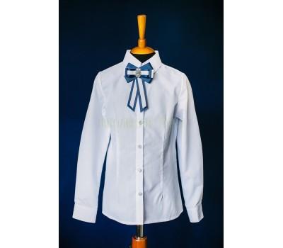 Блузка с длинным рукавом (804-2Бел)